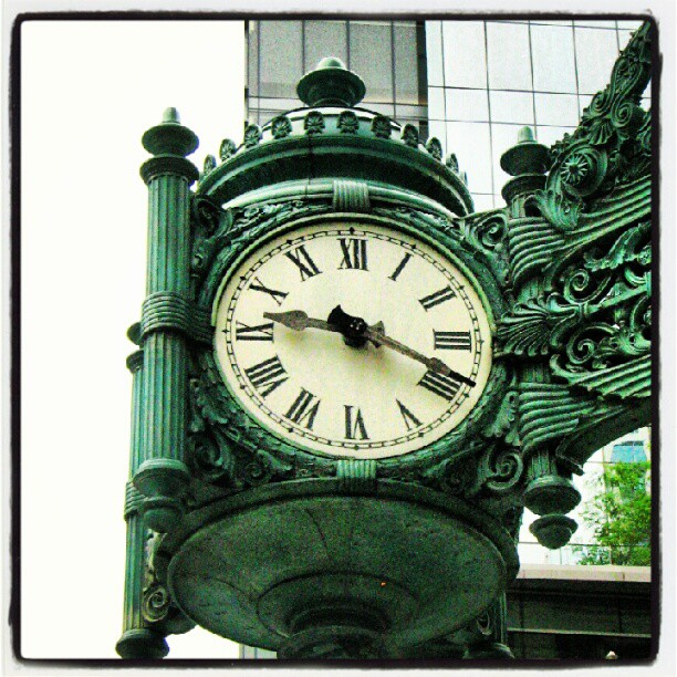 The Clock at Marshall Field's
