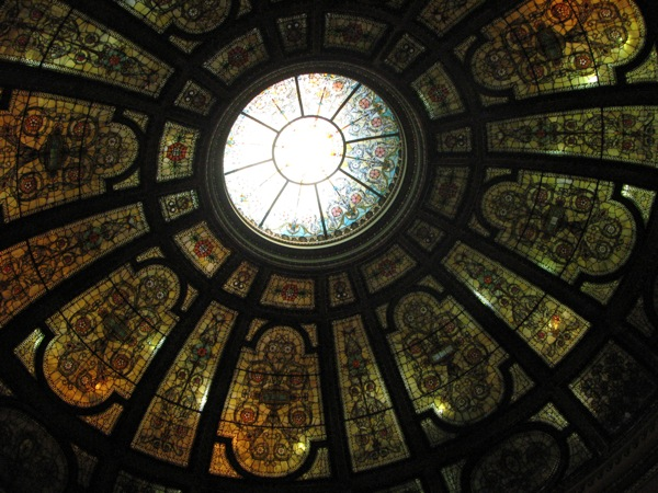 Healy and Millet Stained Glass Dome
