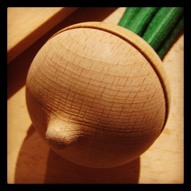 Wooden Turnip
