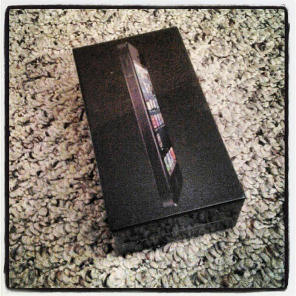 It arrived - iPhone5