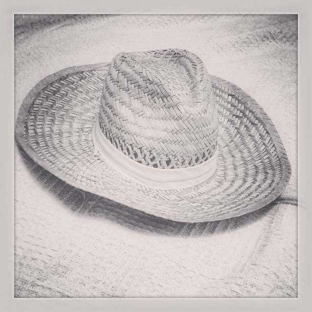 Home ill. So here is a picture of a hat...