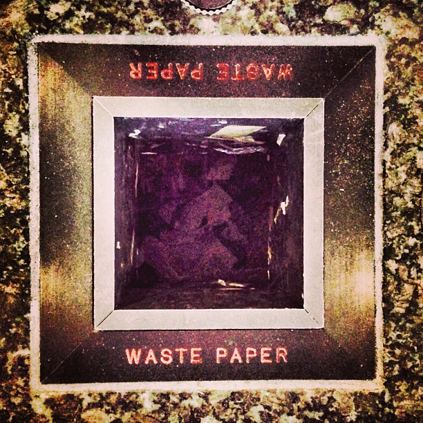(Don't) Waste Paper