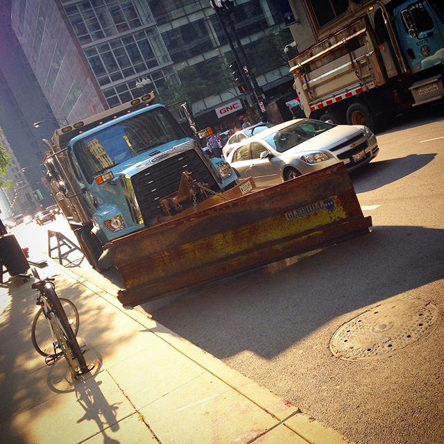 Snowplows In Summer? - Lollapalooza