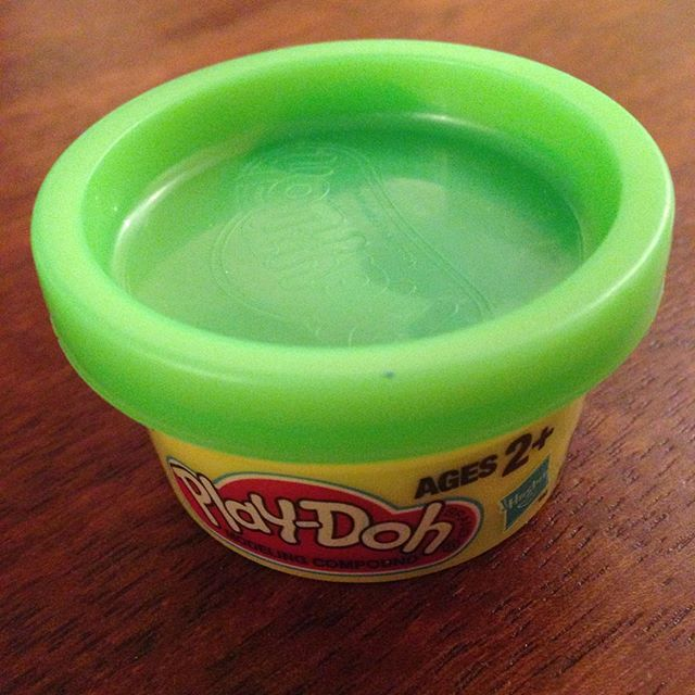 Smallest Play Doh In The World