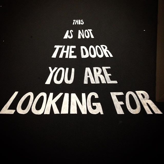 Not The Door You Are Looking For